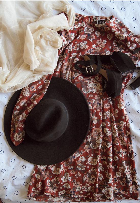 Fall Fashion. Vintage Love.